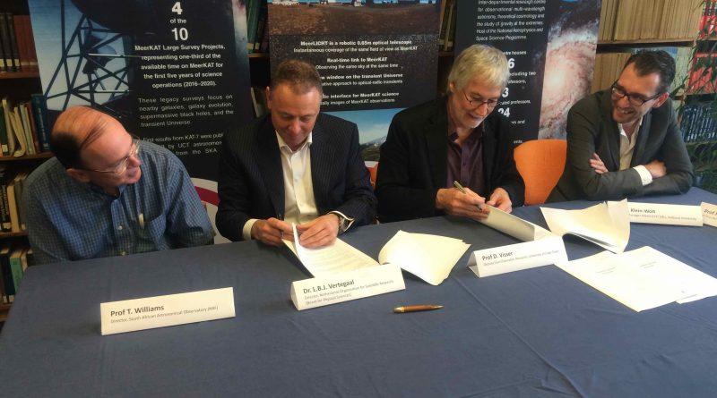 MeerLICHT consortium MoU signed
