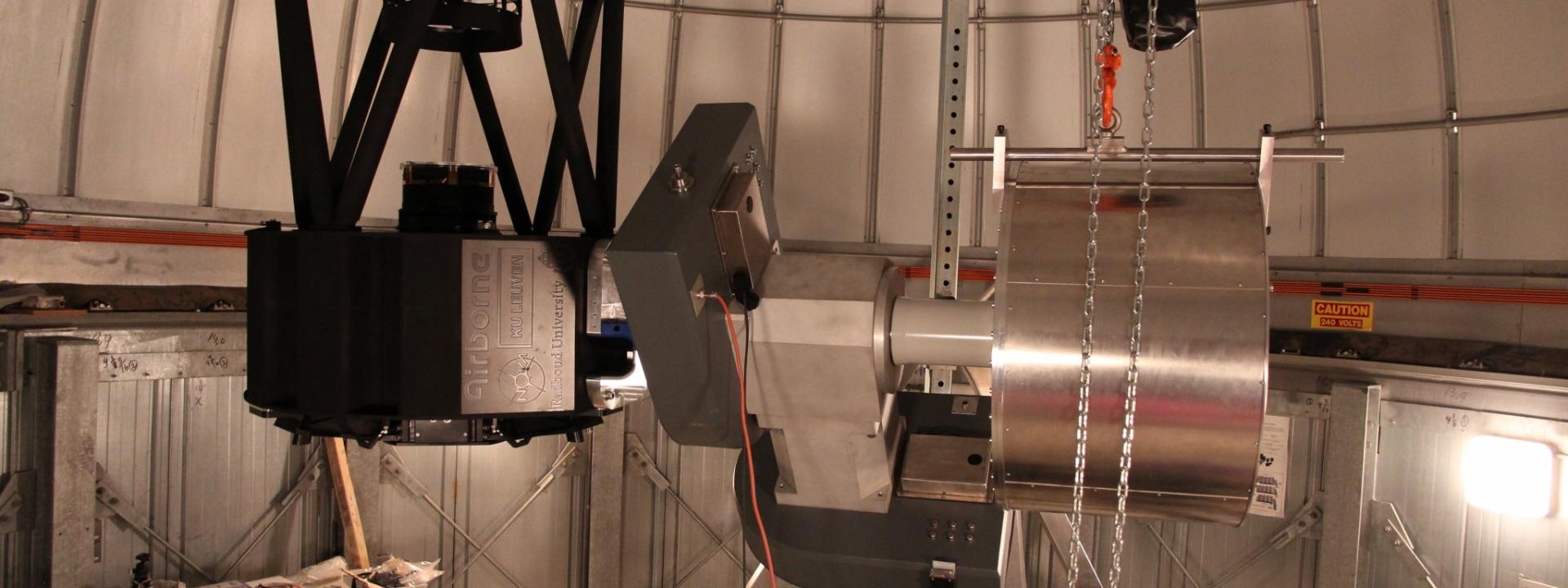 Telescope meets mount