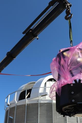 MeerLICHT installation in Sutherland